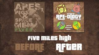 AP&S Before/After Ape-ology remix sampler.