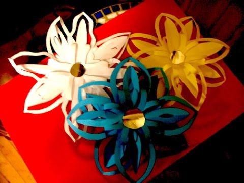 Украшения из бумаги,Handmade.цветы