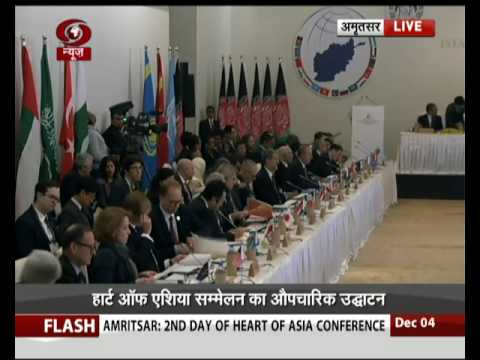 PM Modi and Afghan Prez inaugurate Heart of Asia conference in Amritsar