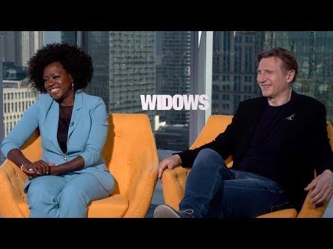 VIOLA DAVIS, LIAM NEESON Interview: Widows