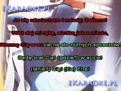 Sokol feat. Pono & Franek Kimono W aucie [karaoke]
