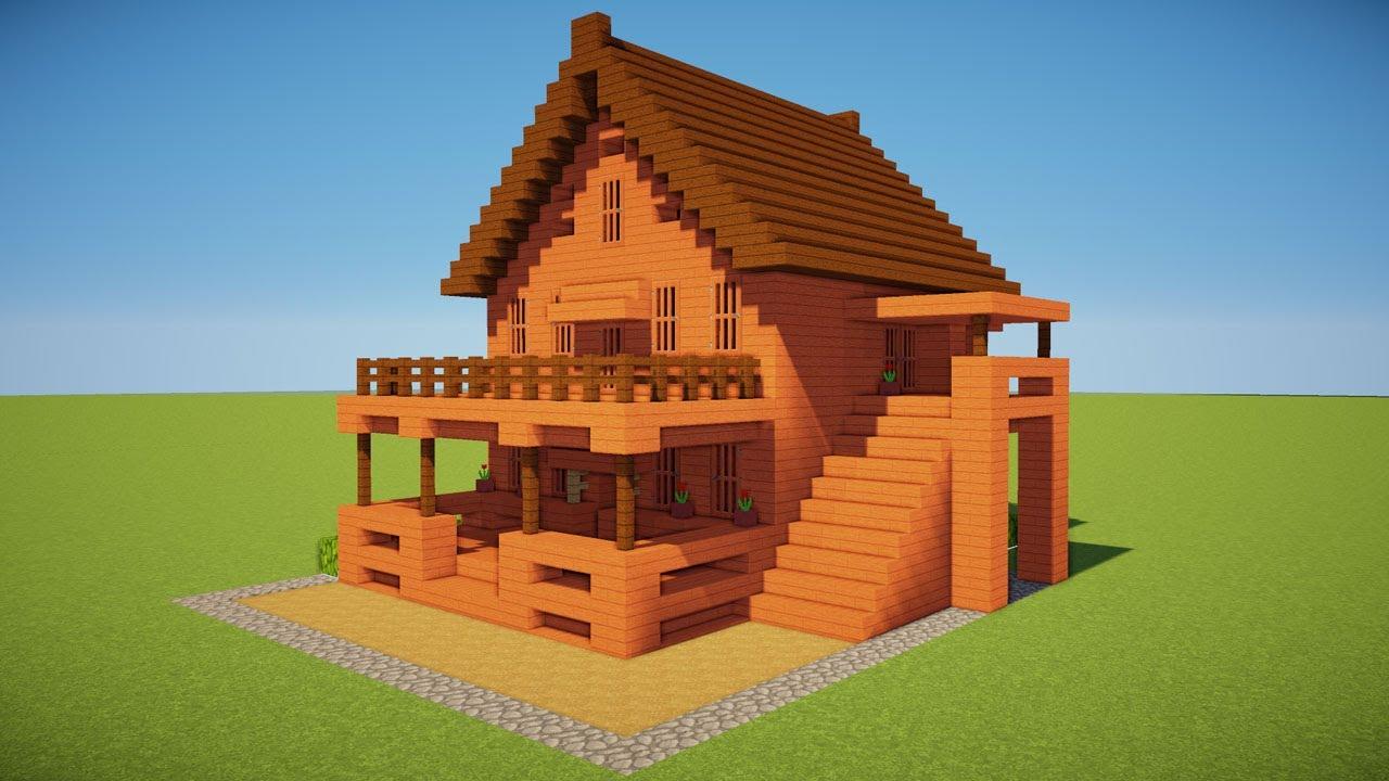 minecraft house tutorial - 1280×720