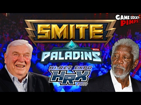 Smite/Paladins Championship Coverage by Freeman & Madden - Game Society