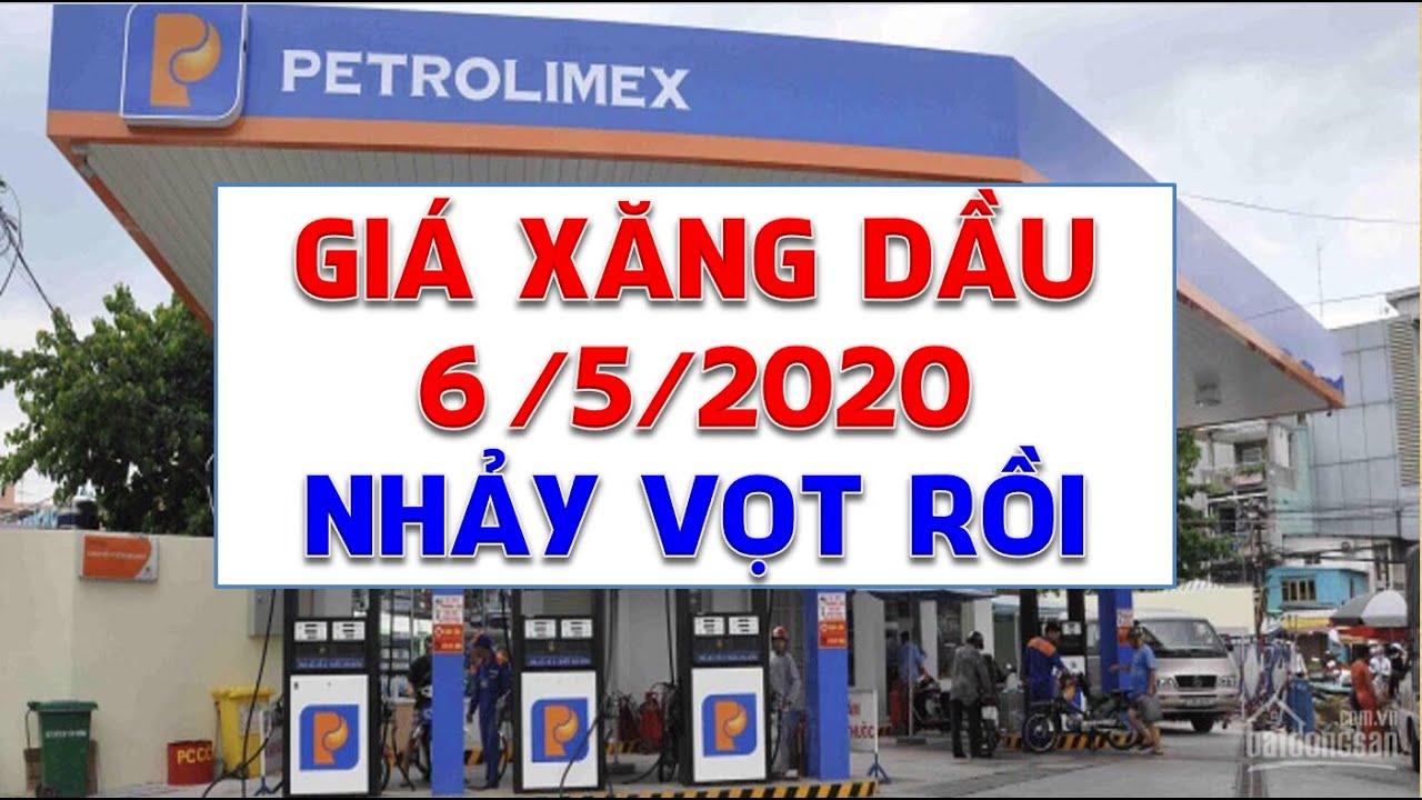 Giá xăng dầu hôm nay 6/5/2020: Lần đầu nhảy vọt qua ngưỡng 30 USD/thùng