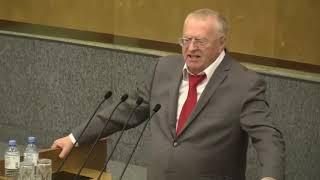Жириновский о бюджете 2019-2021
