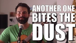 Another One Bites the Dust - Queen - Ukulele Tutorial and Play-along