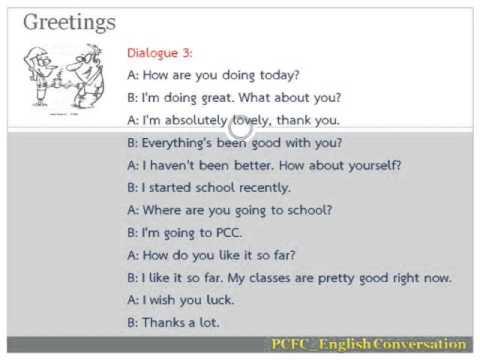 Greeting dialogue 3 youtube greeting dialogue 3 m4hsunfo