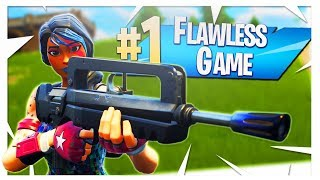 Victory Royale but Taking NO DAMAGE! - PS4 Pro Fortnite FLAWLESS GAME!