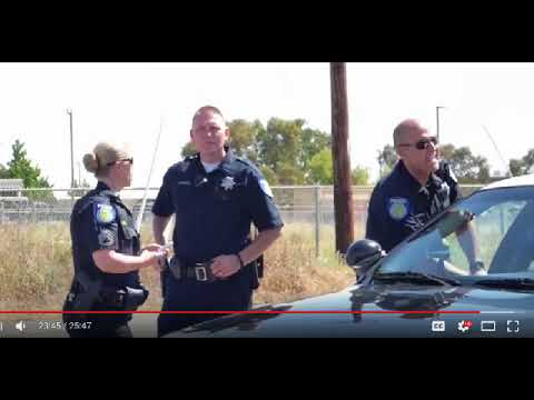 US NAVY & MARINES: SACRAMENTO POLICE ILLEGALLY CUFF & DETAIN JOURNALIST, BIG FAIL 1st Amend Audit