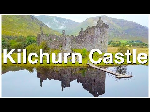 Kilchurn Castle - DJI Mavic Pro 4K Footage Matthew Way