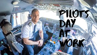 Day In The Life Of An Airline Pilot - 2020