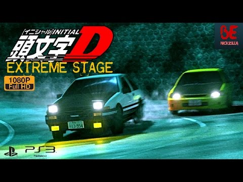 INITIAL D : EXTREME STAGE GAMEPLAY | PS3 1080p