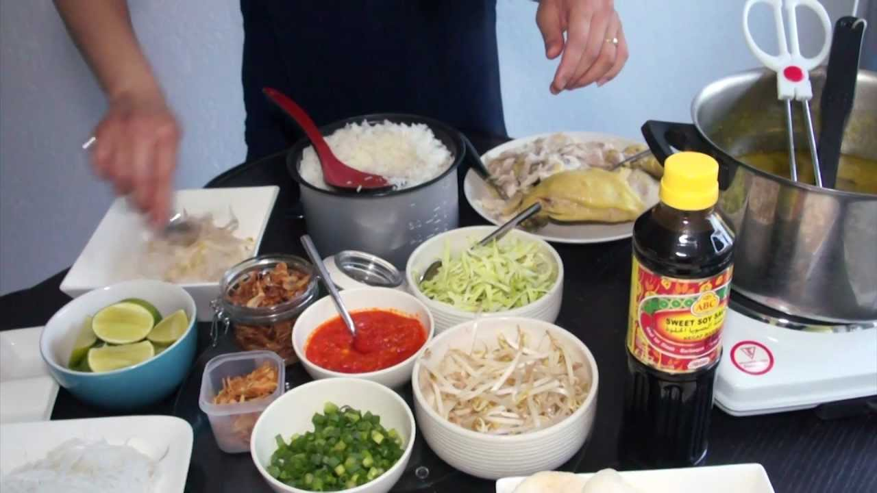 How To Make Soto Ayam (Indonesian Chicken Soup)YouTube
