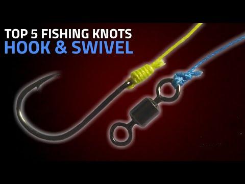 Best 5 Fishing Knots For Hook & Swivel