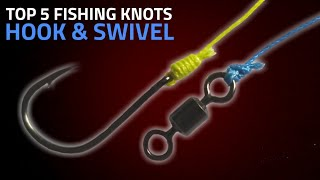 Best 5 Fishing Knots For Hooks & Swivel