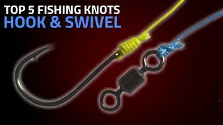 5 Best Fishing Knots For Hook & Swivel