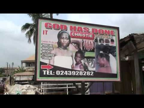 A tour of Bantama, Kumasi, Ghana