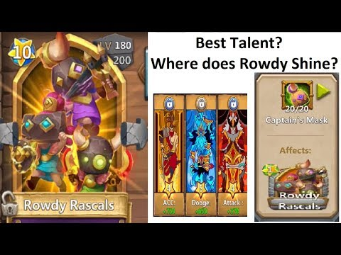 Rowdy Rascals Explained Double Evolved Augmented Castle Clash