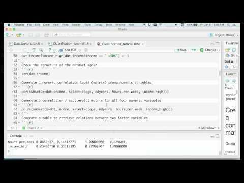 Classification tutorial1