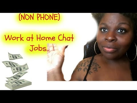 LIST OF WORK AT HOME (NON PHONE) CHAT JOBS $8-$16 Per Hour!