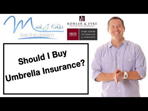 Should You Buy Umbrella Insurance? | Mark J Kohler | Tax & Legal Tip