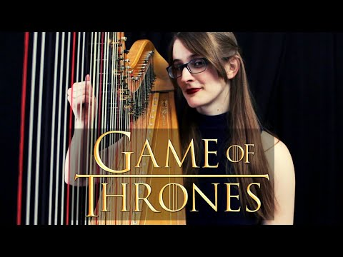 Game Of Thrones Main Theme (Harp Cover) | 2019 Remake