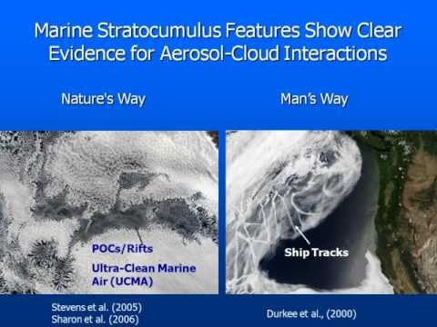 Stratocumulus Decks - labs for inadvertent & planned cloud seeding