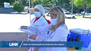 Erro na vacinação de Idosa em Vila Velha