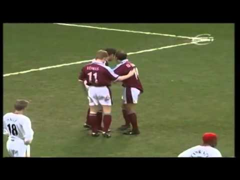 WestHam 5 - 4 Bradford 1999 2000