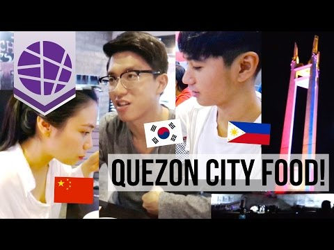 QUEZON CITY FOOD TRIP WITH A KOREAN AND CHINESE! | EL's Planet