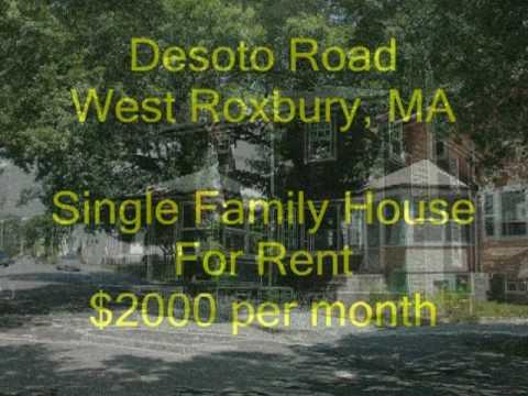 Desoto Road West Roxbury (Boston), MA