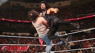Roman Reigns vs. Luke Harper: Raw, January 12, 2015