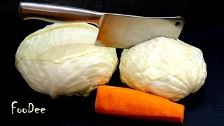 Быстрая маринованная капуста! Самый ПРОСТОЙ и вкусный рецепт