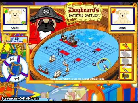 Webkinz Dogbeards Bathtub Battles Cheats