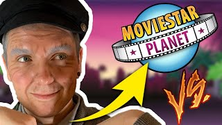 STARY CZŁOWIEK vs MSP | Movie Star Planet #01