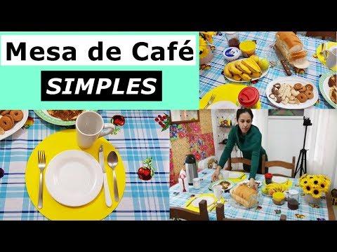Mesa de Café da Manhã Simples VEDA#4