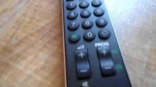 Sony TV Remote Control RM-ED009 for KDL-20B4030 KDL-20S3000 KDL-20S3070 KDL-20B4