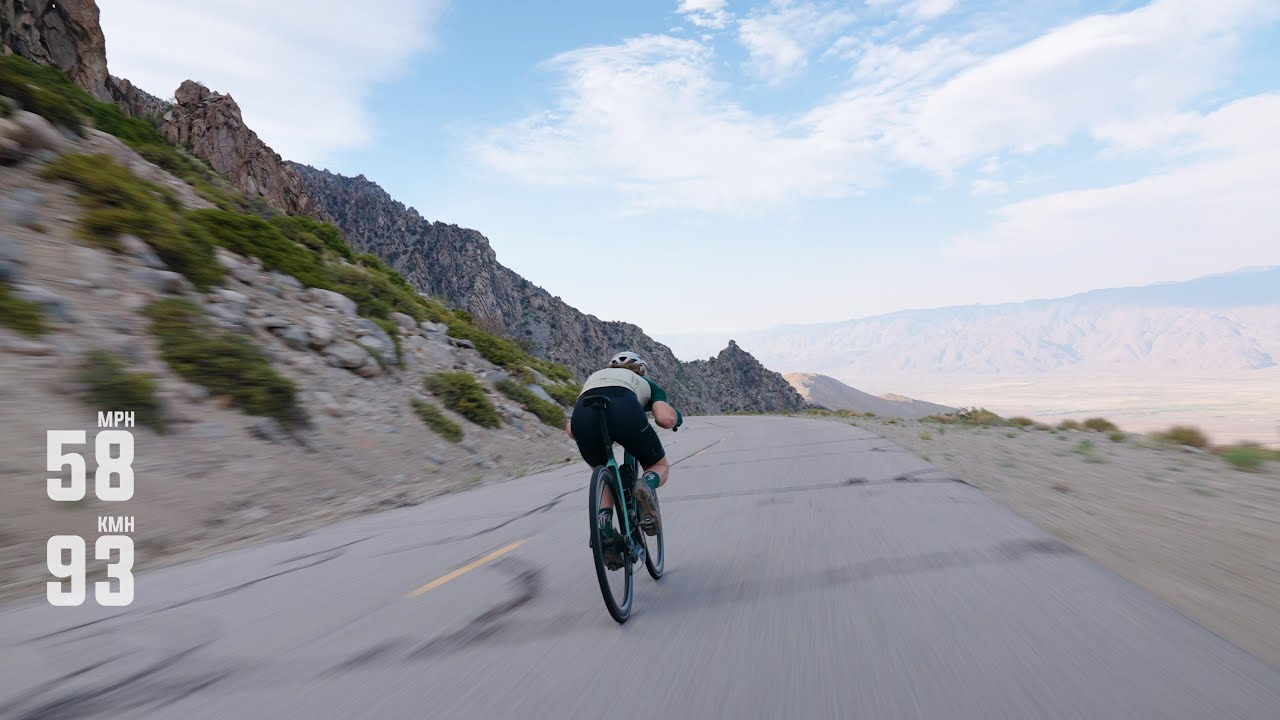 Alpine Road Descent on the New Addict Gravel