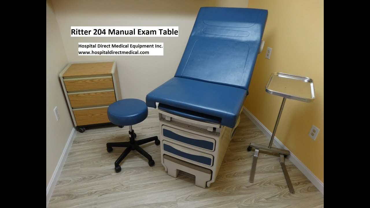 Ritter 204 Exam Table