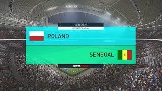 러시아 월드컵 폴란드 vs 세네갈 매치 게임 경기 예측 하이라이트 영상
