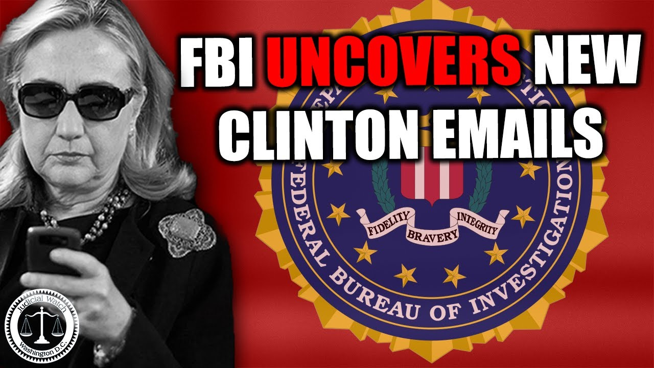 Tom Fitton: Judicial Watch Obtains NEW FBI Docs Revealing Clinton Email Cover-Up!