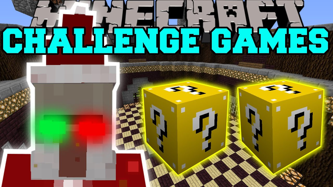 Minecraft: CHRISTMAS WITCH CHALLENGE GAMES - Lucky Block Mod ...