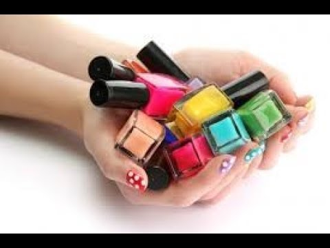 Best Reuse Of Nail Polish/creative art/DIY Art and Craft Ideas/Nail Polish Art and Craft Ideas