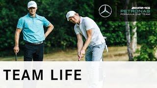 Nico Rosberg v Martin Kaymer: Challenge 4 – Short Game Guru
