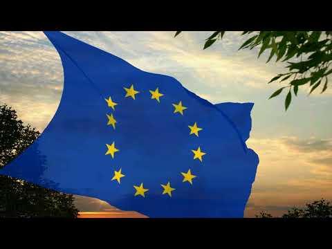 Flag and anthem of the European Union (latin lyrics)