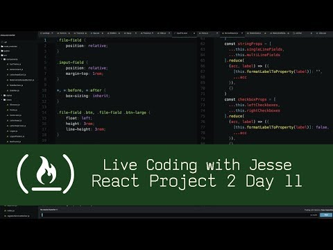 Handling Form Data and Uploads with React (P2D11) - Live Coding with Jesse