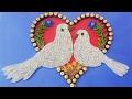 Making Beautiful Love Birds 💘  ⭐ Paper Quilling Art ⭐