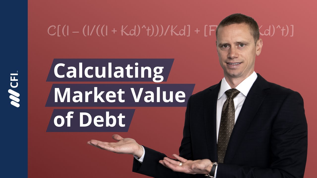Fair Market Value Calculator >> Market Value Of Debt Learn How To Calculate Market Value