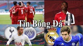 Tin bóng đá | Chuyển nhượng |14/08/2018 : Việt Nam chiến thắng, Ronaldo muốn Juventus mua Pogba