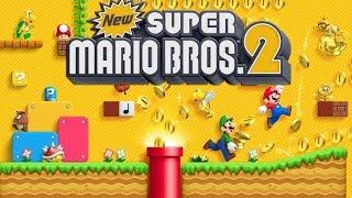 Live jogando New Super Mario Bros 2 do Nintendo 3DS parte 1